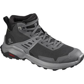 Salomon X Raise Mid GTX Zapatillas Mujer, gris/negro